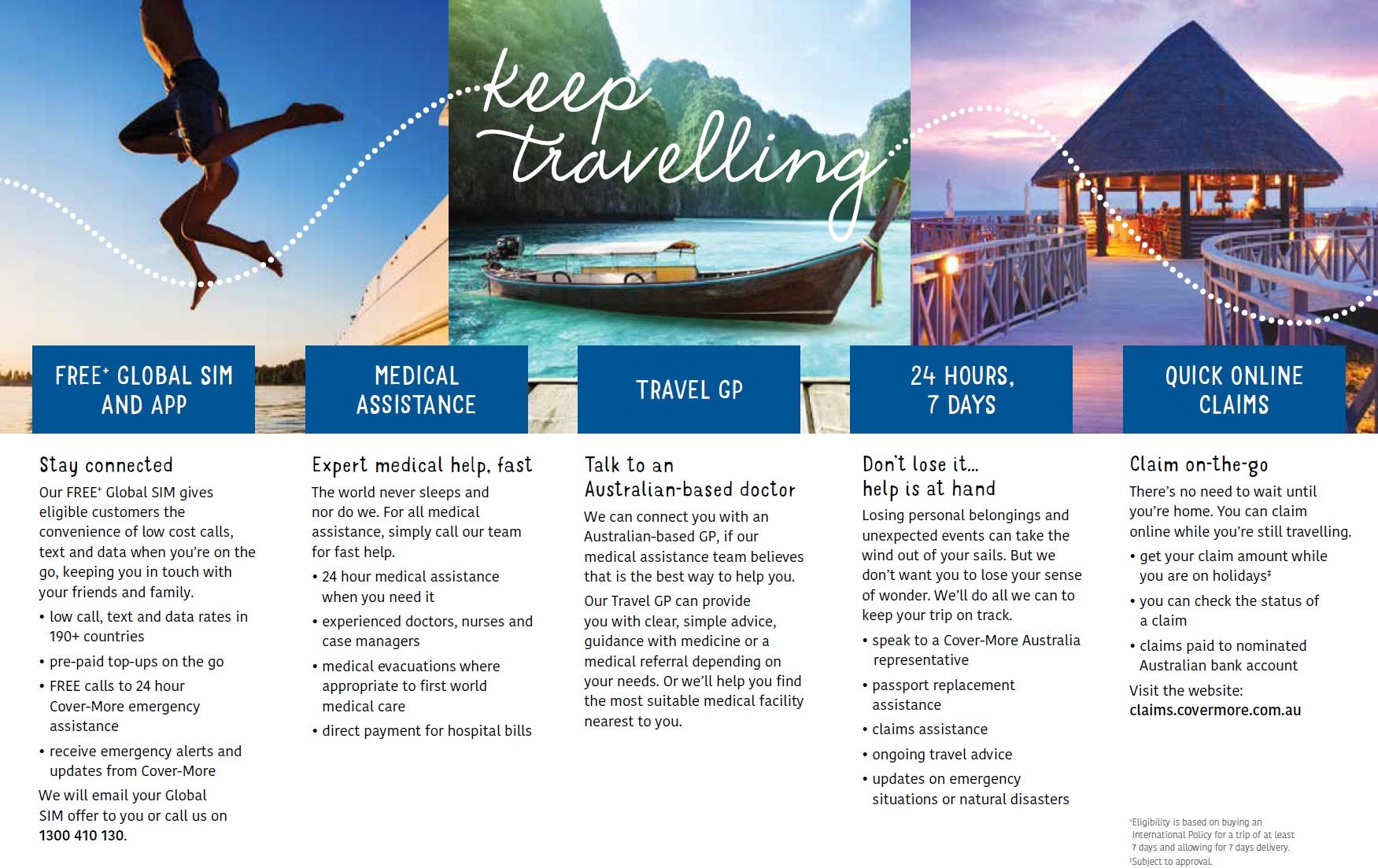 Covermore Comprehensive Travel Insurance