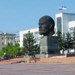 Trans Sib Ulan Ude Lenin