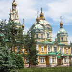 Silk Road Almaty Ascension cathedral