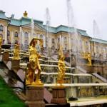Trans Sib Peterhof fountain LED