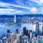 Crystal HKGTYO HKG skyline