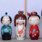 Japan wooden kokeshi